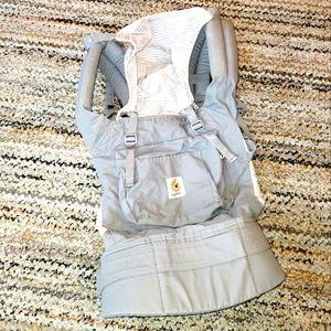 ERGOBABY Original Misty Gray Striped Baby Carrier